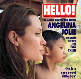 Angelina Jolie Pax Thien name Change Jolie-Pitt Adopted