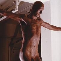 Chocolate Jesus statue christians catholics Cosimo Cavallaro exhibition cancelled