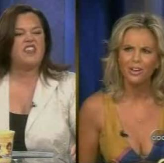 Rosie O'Donnell Elizabeth Hasselbeck The View Fight Argument