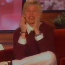 Ellen DeGeneres crying TV Dog