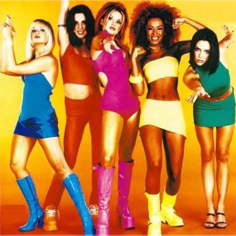 Spice Girls Tour Concer Geri Halliwell solo Victoria Beckham
