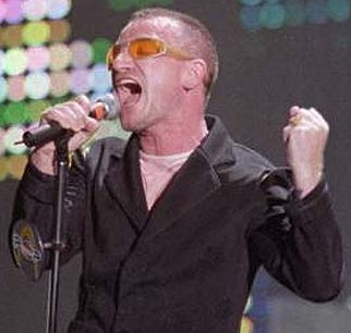 Bono Charity Africa African Aid Action Slammed Jobs Selasie