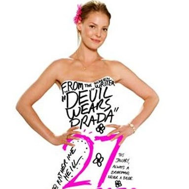 27 dresses creased folded