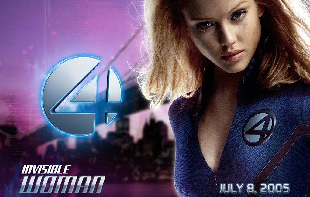 Jessica Alba Notable action movie appearance: Fantastic Four I and II