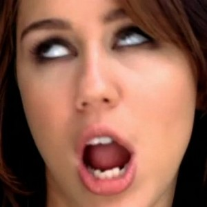 Hannah Montana/Miley Cyrus - Love her or DEATH TO HER??!! Miley-cyrus-racist-300x300