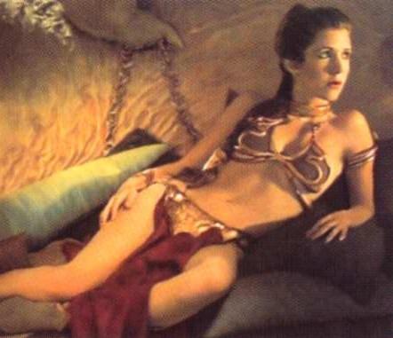 princess leia gold bikini costume. Princess Leia Gold Bikini