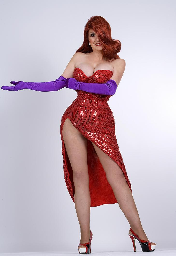 Photo of Annette Edwards, Obsessed Jessica Rabbit Look-A-Like!