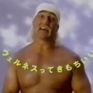 Hulk Hogan Hitachi Bigflow Airconditioner Japanese TV commercial
