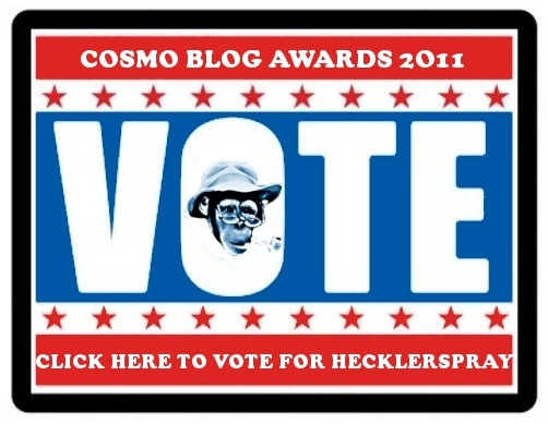 hecklerspray cosmo blog awards 2011