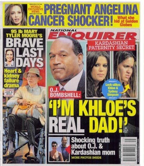 OJ Simpson Is Khloe Kardashian's Real Dad?!
