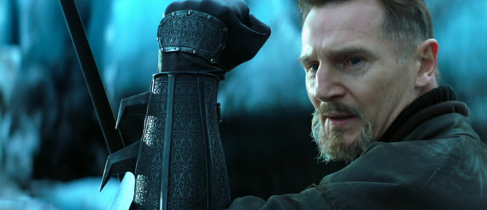 Liam Neeson in Batman Begins