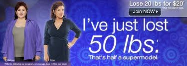Carrie Fisher Jenny Craig