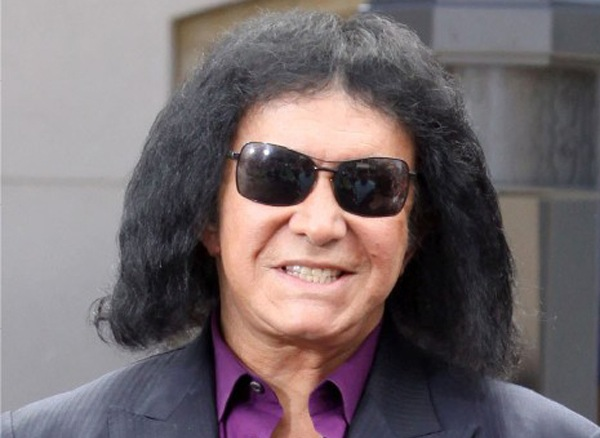Gene Simmons Cotton Hair