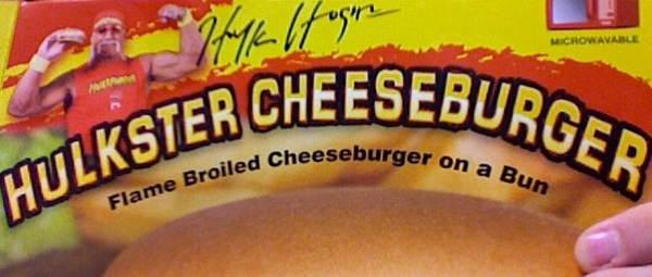 Hulk Hogan Hulkster Burger