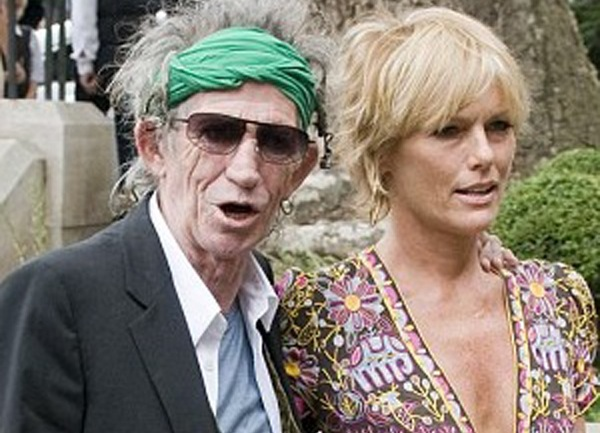Keith Richards Patti Hansen