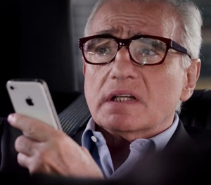 Martin Scorsese iPhone