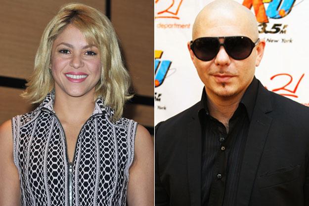 Pitbull and Shakira