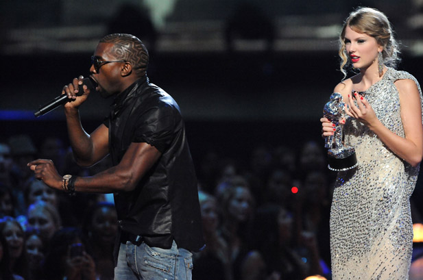 Taylor Swift Kanye West VMA