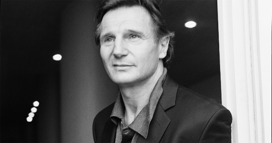 Liam Neeson, looking cool