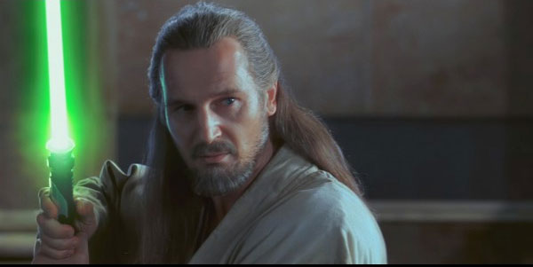 Liam Neeson in Star Wars