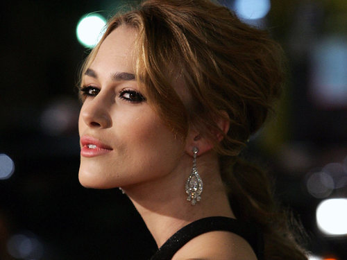 Keira Knightley's chin at rest