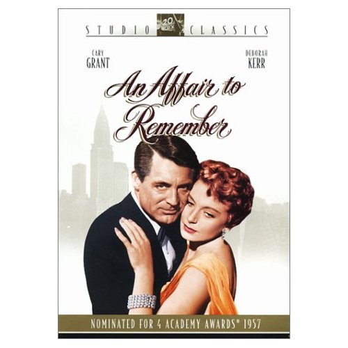 The DVD cover for An Affair to Remember.