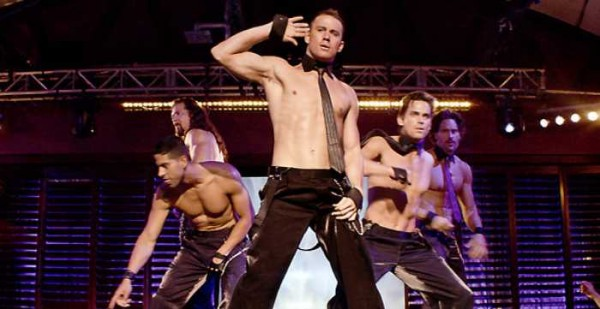 Channing Tatum in the film, Magic Mike.