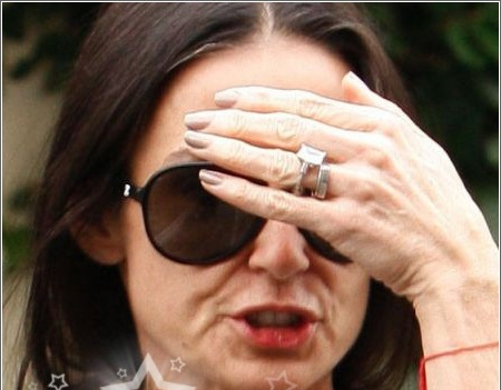 Demi Moore Without Makeup