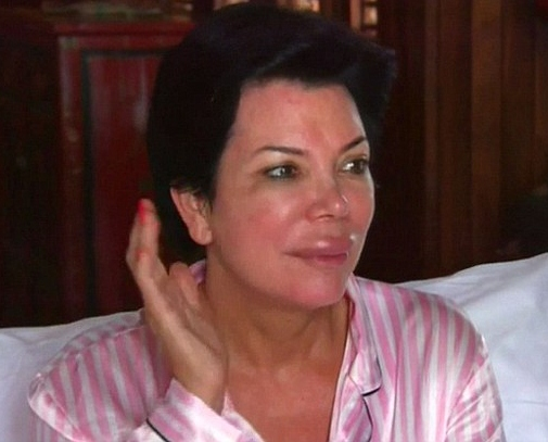 Kris Jenner Without Makeup