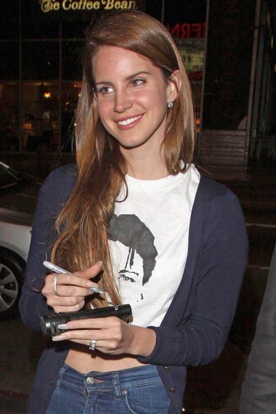 Lana del Rey Without Makeup