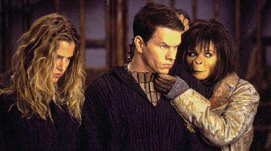 Mark Wahlberg in Tim Burton's Planet of the Apes
