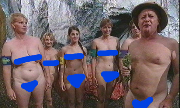Naked jungle game show