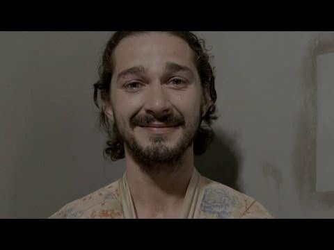 Video thumbnail for youtube video Shia LaBeouf is Sticking to 'Method' Acting From Now On