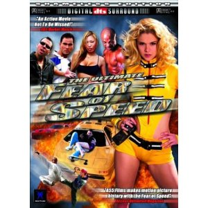 The DVD cover for The Ultimate Fear Of Speed.