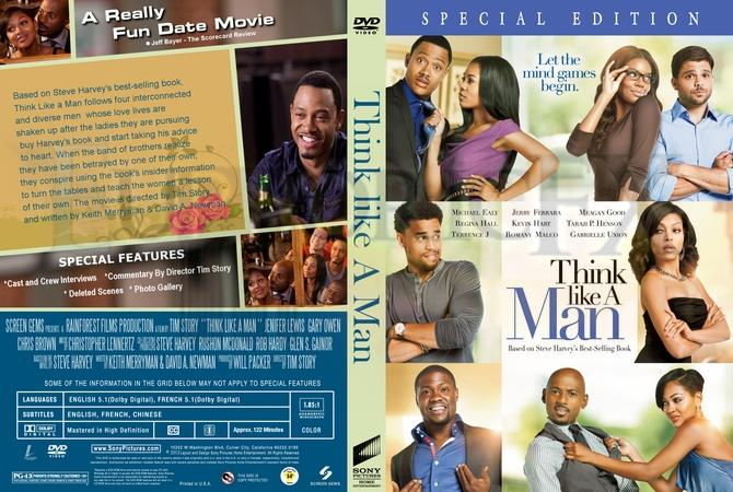 The DVD cover for Think Like A Man. 