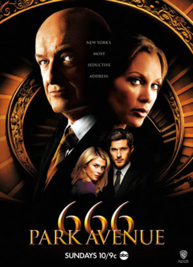 Poster for the ABC show, 666 Park Avenue