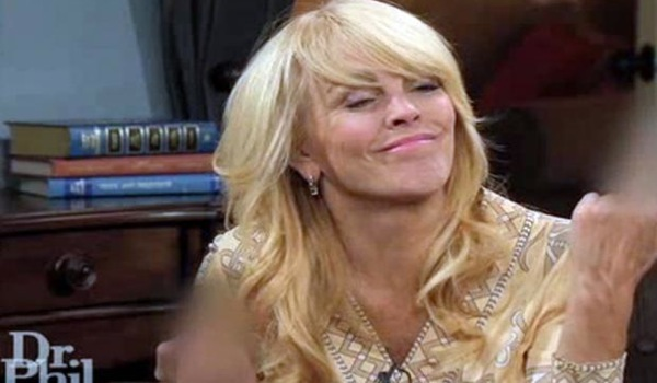Dina Lohan Doesn't Give a Fuck