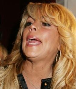 Dina Lohan Partying