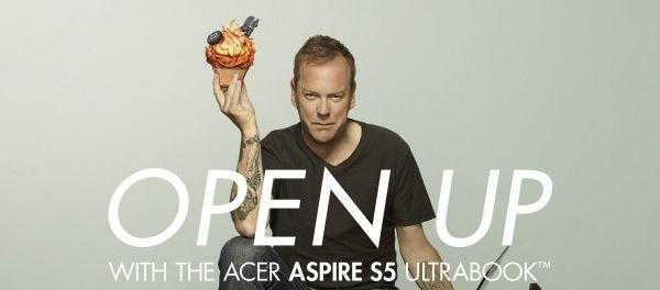 Kiefer Sutherland Acer Cupcake Ad