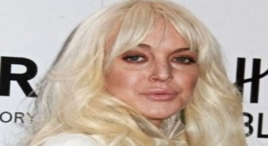 Lindsay Lohan Looks Like A Ghost