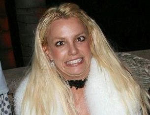 Britney Spears Looking Crazy