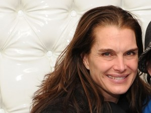 Brooke Shields without makeup