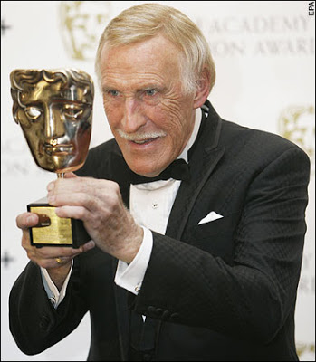 Bruce Forsyth looking old and creepy