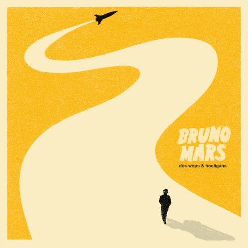 "The album cover for Bruno Mars' ""Doo-Wops & Hooligans"""