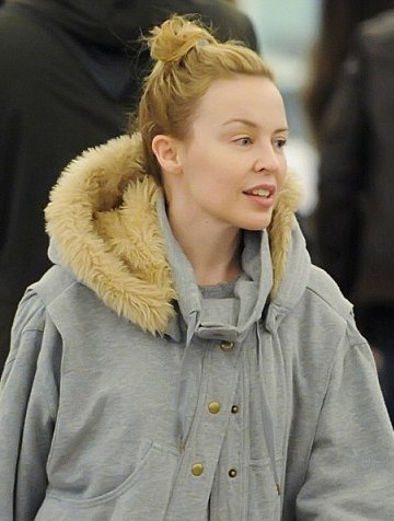 Kylie Minogue Without Makeup