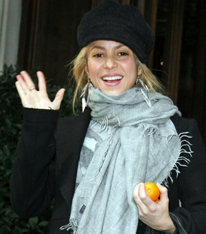 Shakira Without Makeup