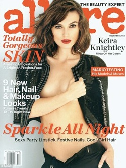 Keira Knightley Topless in Allure