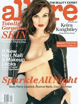 Keira Knightley Topless in Allure