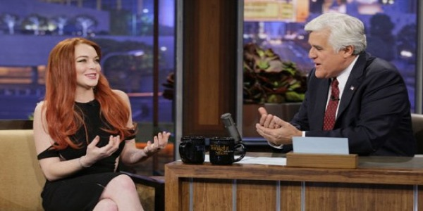 Lindsay Lohan on Jay Leno