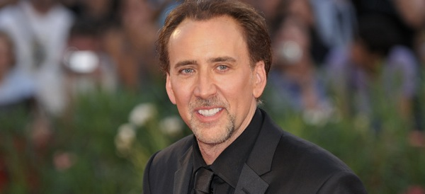 Nicolas Cage Looking Semi-Normal
